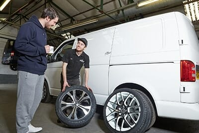 Services-Alloy Wheels