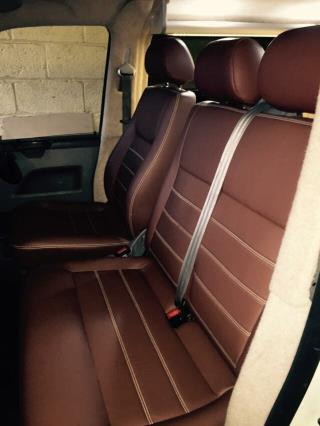 Upholstery (Brown and Cream)