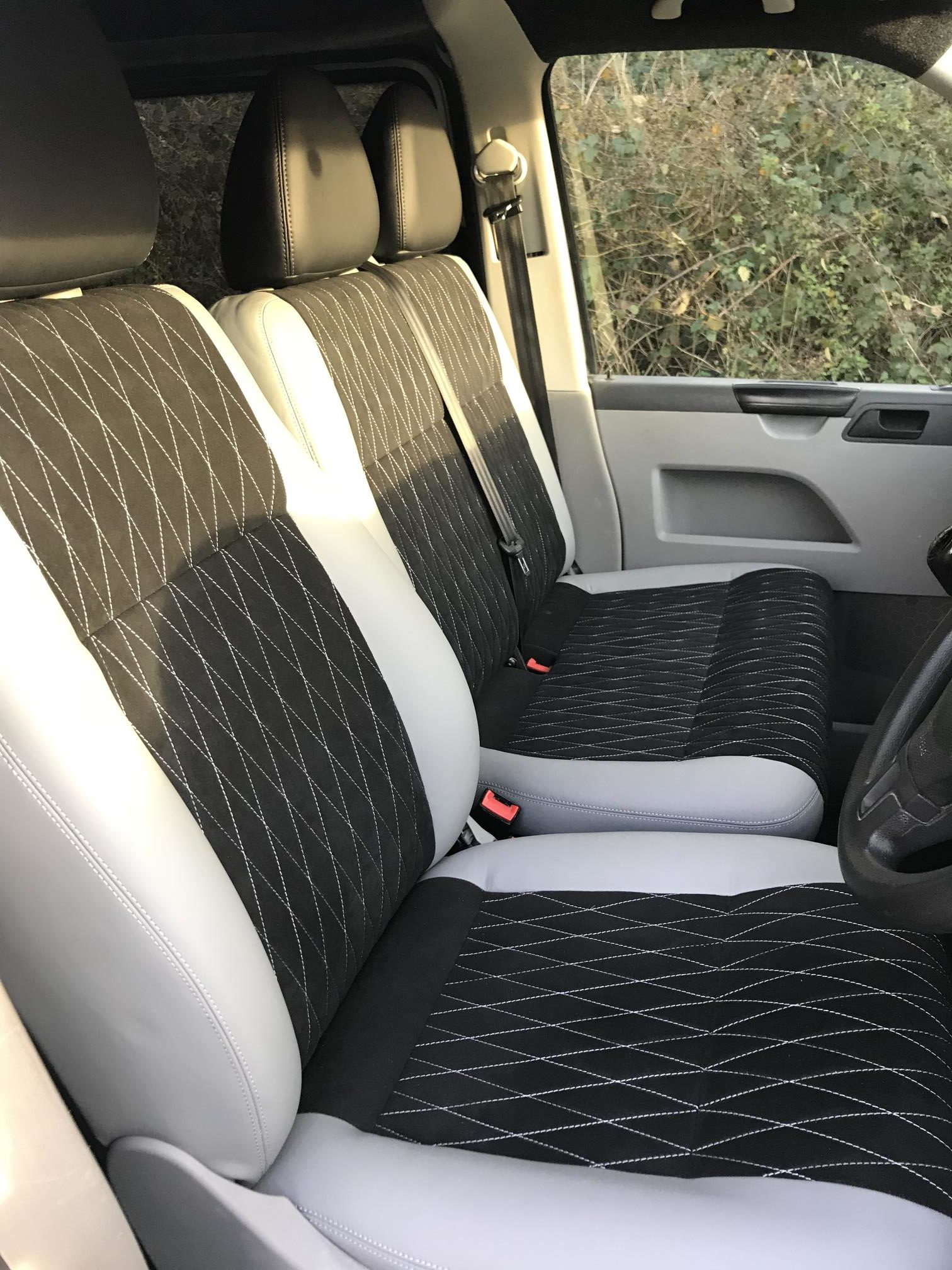 Upholstery (Grey and Black)