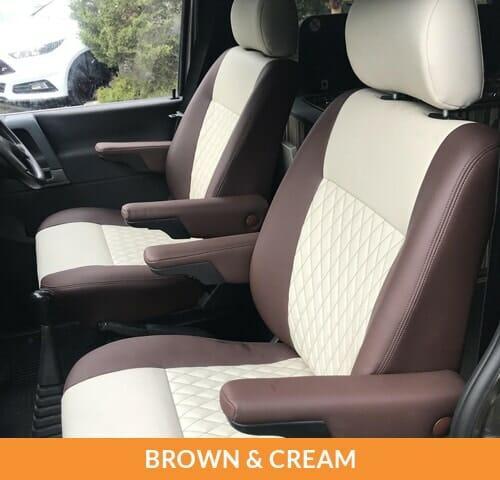 Upholstery (Brown & Cream)