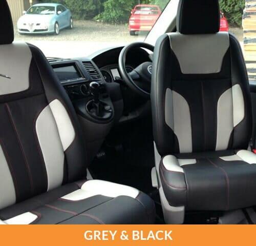 Upholstery (Grey & Black)